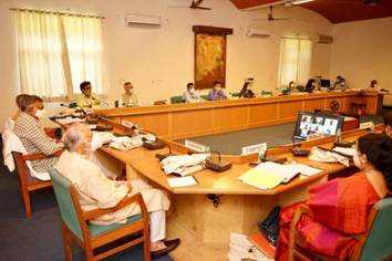 Culture Minister presides over the meeting of Central Advisory Board on Culture