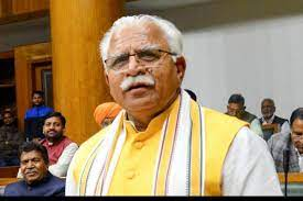 Haryana Chief Minister, Sh. Manohar Lal while meeting representatives of farmers