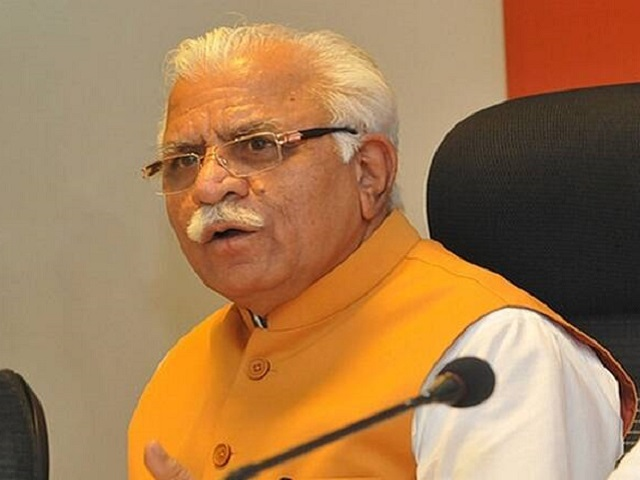 Haryana Chief Minister, Sh. Manohar Lal while presiding over the review meeting