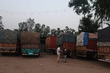 Haryana Police has seized a consignment of 500 cases of Indian Made Foreign Liquor (IMFL) from a container