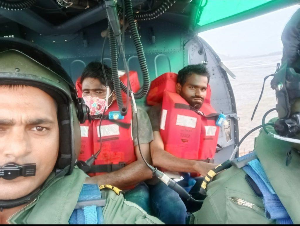Indian Coast Guard (ICG) rescued all 16 crew of sinking MV Mangalam near Revdanda port of Maharashtra on June 17, 2021. The Maritime Rescue Coordination
