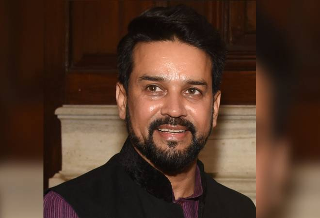 Industries Minister takes up various issues of state with Anurag Singh Thakur
