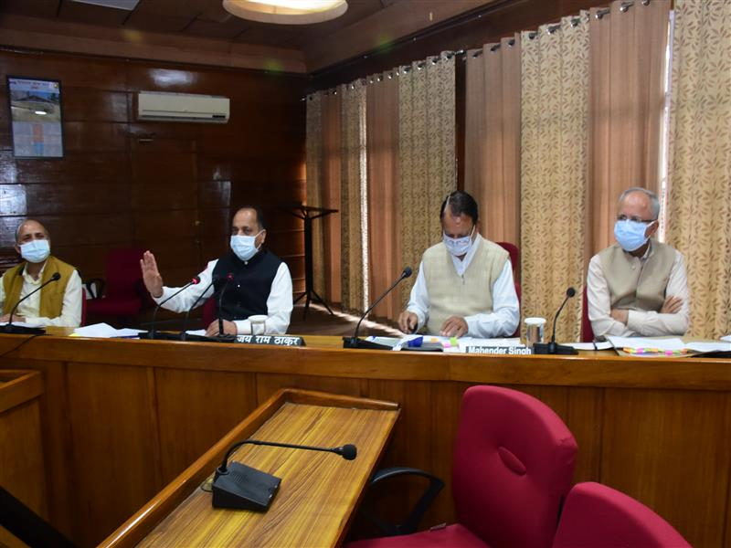 Jai Ram Thakur reviews Chief Minister's announcements for Mandi district