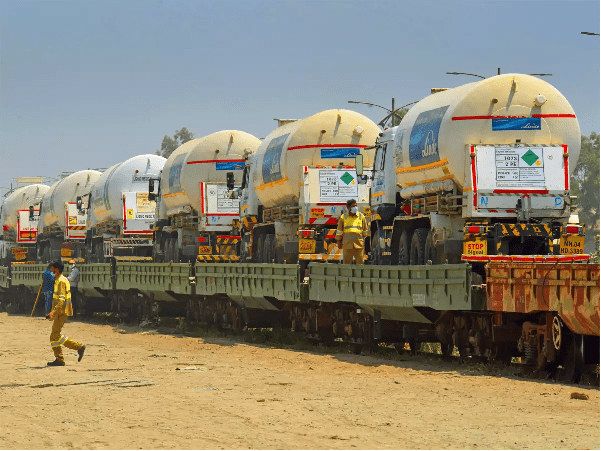 Oxygen Expresses deliver nearly 28000 MT of LMO to the Nation