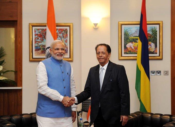 PM condoles demise of Padma Vibhushan Sir Anerood Jugnauth