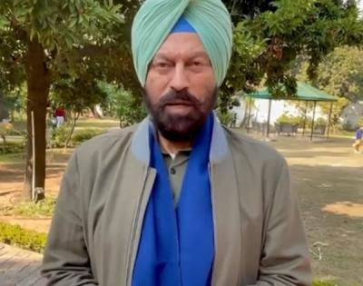 RANA SODHI SPEAKS TO PGI DOCTORS, ENQUIRES ABOUT OLYMPIAN MILKHA SINGH'S HEALTH
