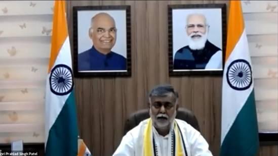 Shri Prahlad Singh Patel jointly addresses webinar