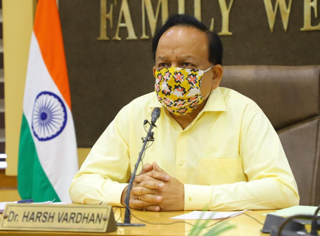 Union Minister Dr. Harsh Vardhan meets CSIR Overarching Committee which has recommended