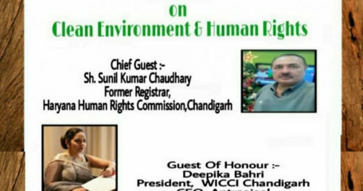 On the occasion of World Environment Day which is celebrated every year all over the world on 5th June, the Human Rights Council, WICCI Chandigarh organized a webinar.