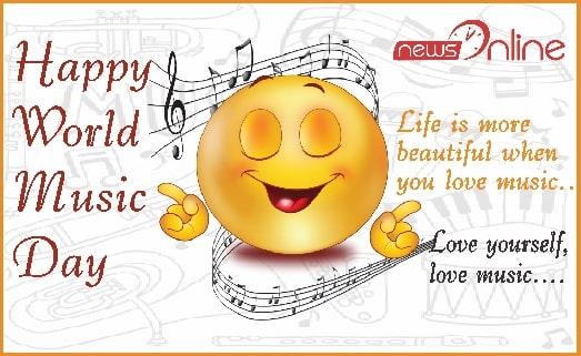 happy world music day wishes