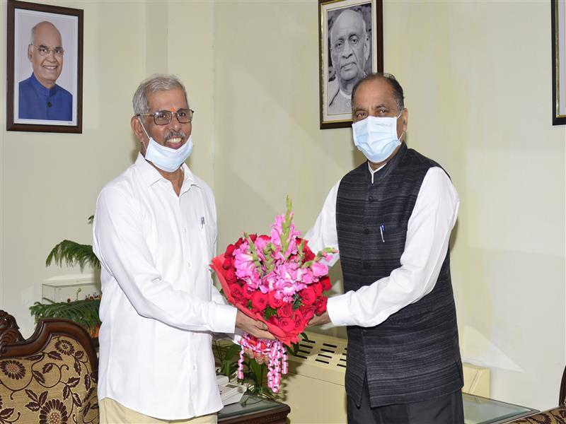 CM briefs Governor about loss due to flash flood incidents in various parts of State