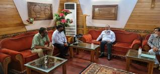 Chief Labour Commissioner of India reviews implementation of Labour Laws and new Labour Codes with Project officials in Srinagar