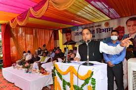 Chief Minister inaugurates and lays foundation stones of developmental projects worth Rs. 69.04 crore at Panarsa in Darang assembly constituency