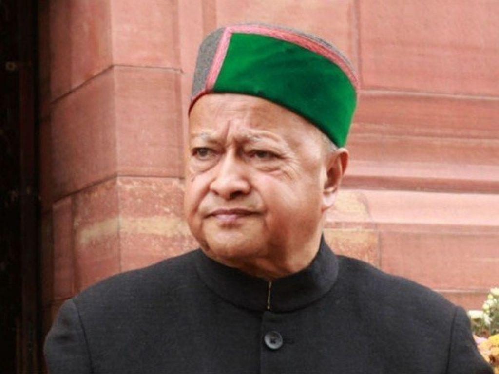 Governor condoles demise of former CM Virbhadra Singh