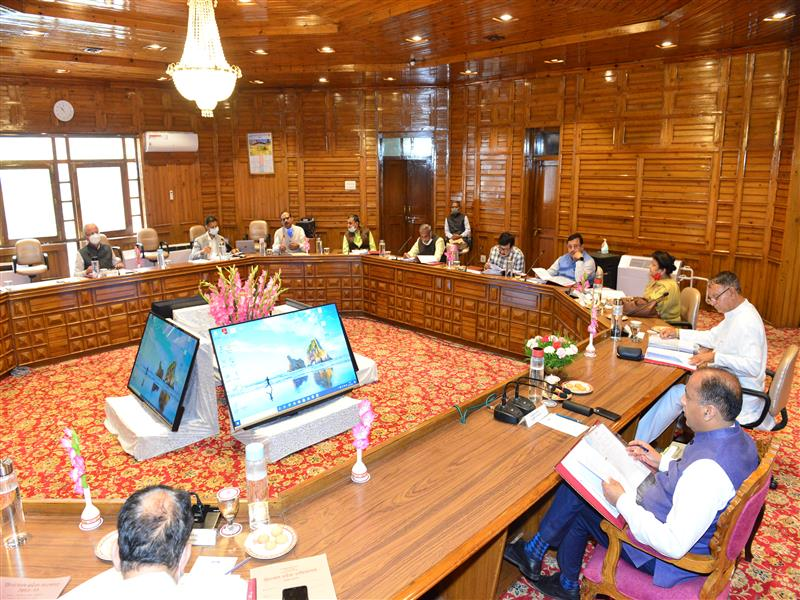 The Meeting of State Cabinet held here today under the chairmanship of Chief Minister Jai Ram Thakur reviewed the Covid-19 situation in the State. It decided to increase the limit
