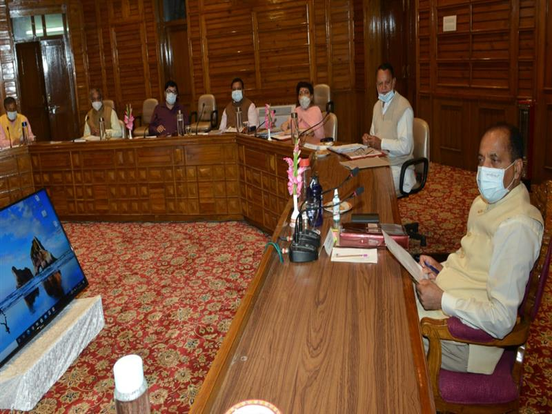 The meeting of State Cabinet held here today under the chairmanship of Chief Minister Jai Ram Thakur decided to open schools for 10th, 11thand 12thclasses with effect from 2August