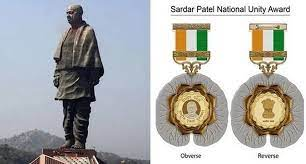 Haryana Government has invited online nominations from all the offices of the state for the 'Sardar Patel National Unity Award