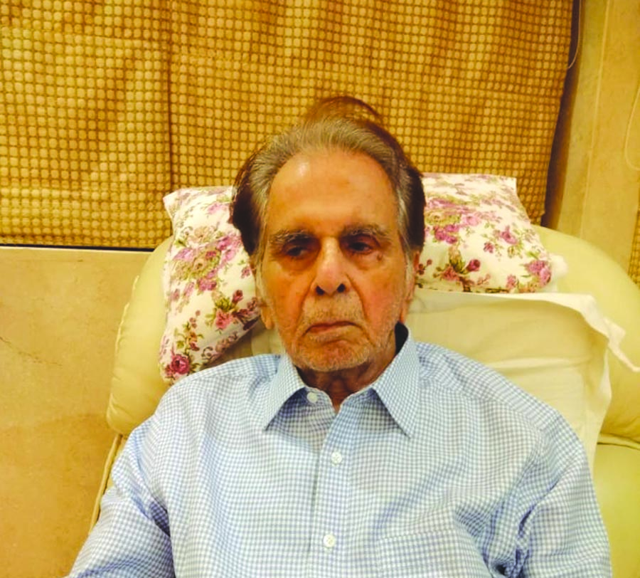 Haryana Home Minister, Sh. Anil Vij has expressed grief on the demise of well-known film actor, Sh. Dilip Kumar.