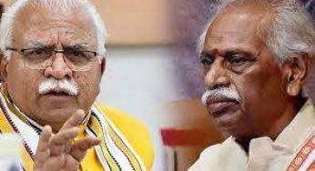 Haryana Minister of State for Sainik, Ardh Sainik Welfare & Social Justice and Empowerment, Sh. OP Yadav said that 'Ekikrit Sainik Sadan' would be set