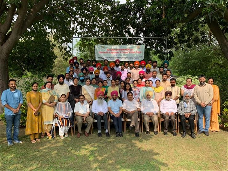 INDUCTION PROGRAM ORGANIZED FOR NEWLY RECRUITED 108 AGRICULTURE DEVELOPMENT OFFICERS
