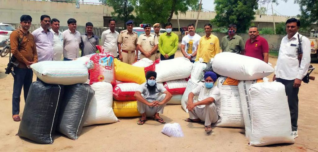 In a major drug bust, Haryana Police seized over 505 kg 'doda post'