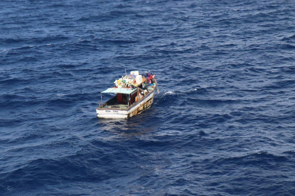 Indian Coast Guard rescues seven fishermen off Tillanchong Island