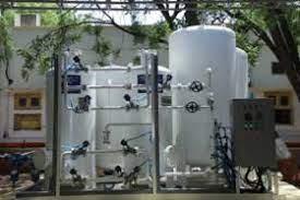 Minority Affairs Minister Shri Mukhtar Abbas Naqvi inaugurates an oxygen plant at Bilaspur in Rampur, Uttar Pradesh.
