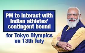 PM to interact with Indian athletes' contingent bound for Tokyo Olympics on 13th July