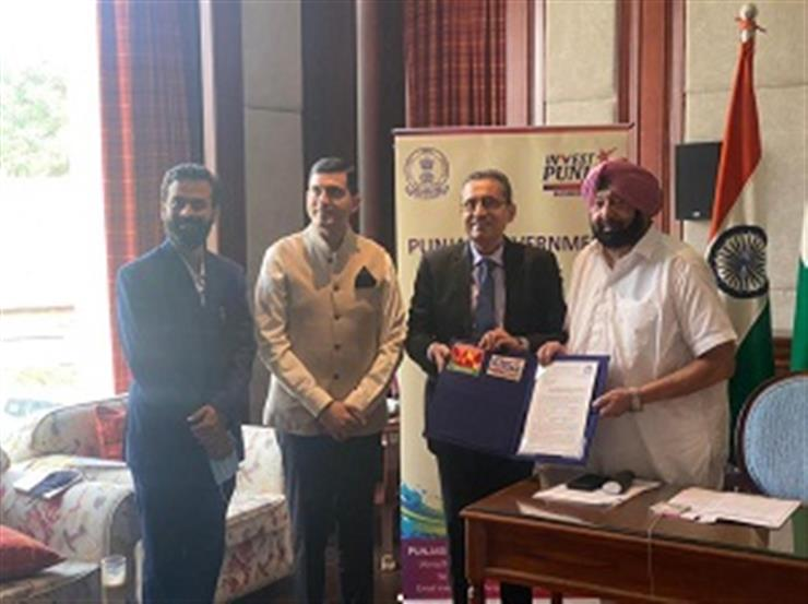 PUNJAB CM WELCOMES ADITYA BIRLA GROUP FOR INVESTING RS.1500 CRORE IN STATE