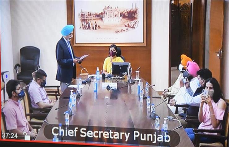 PUNJAB GOVERNOR ADMINISTERS VIRTUAL OATH TO ONE PPSC MEMBER
