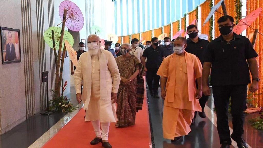 Prime Minister Shri Narendra Modi inaugurates and dedicates PRASHAD projects in Varanasi, Uttar Pradesh