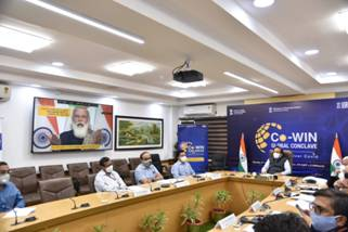 Prime Minister Shri Narendra Modi inaugurates the Co-WIN Global Conclave