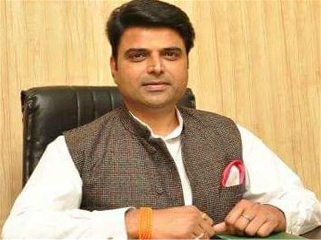 Sachin Sharma demands construction Gau Mata Memorial at Ludhiana