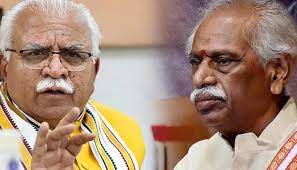 The newly appointed Governor of Haryana, Sh. Bandaru Dattatreya reached Haryana Raj Bhavan on Monday. Haryana Chief Minister, Sh. Manohar Lal ....