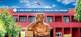 All India Council for Technical Education (AICTE) has selected J.C. Bose University