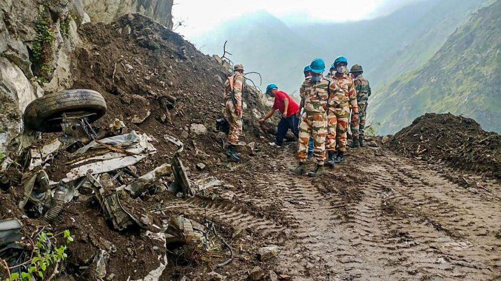 CM expresses grief over landslide incident in Kinnaur district