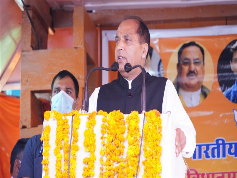 CM inaugurates and lays foundation stones of projects worth Rs. 456 crore in Bharmour constituency