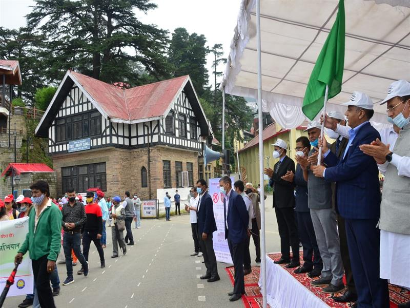 CM launches Swachh Himachal-Swastha Himachal Campaign