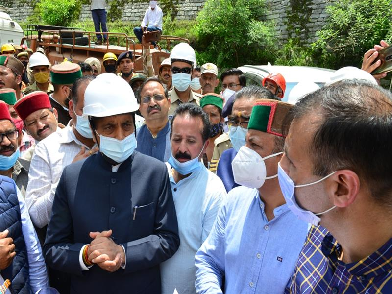 CM visits Neugalsari to oversee relief and rescue work