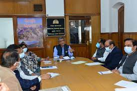CS reviews preparations for Golden Jubilee celebrations in state