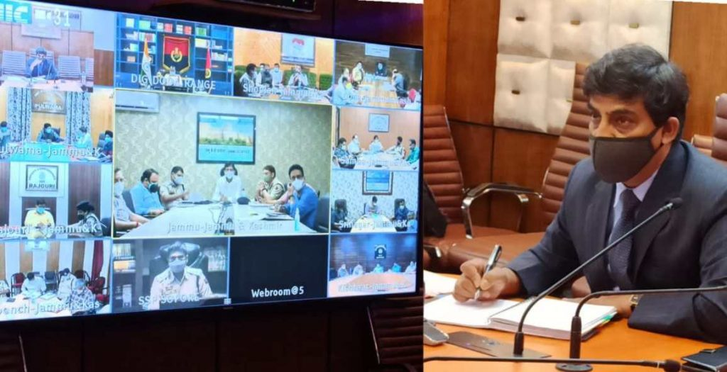 Chief Secretary presides over virtual meeting with DCs and CMOs