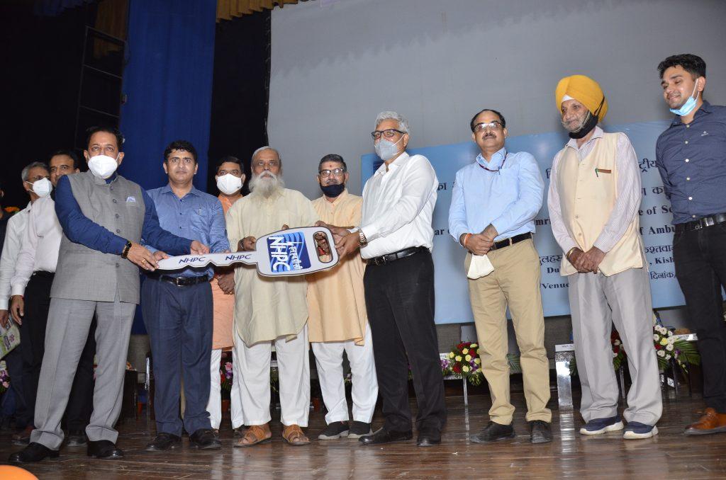 Dulhasti Power Station organizes seminar under the Azadi Ka Amrit Mahotsav and hands over ambulance to NGO