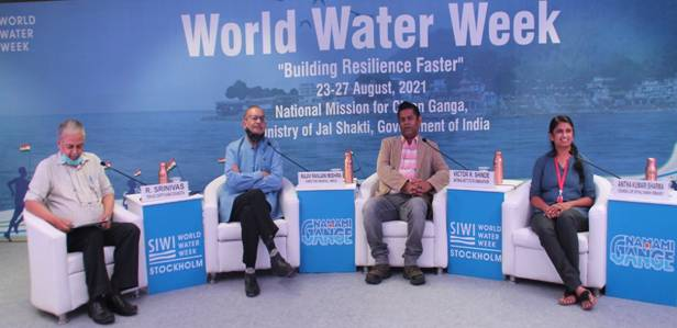 NMCG Hosts Session On 'Developing River Sensitive Cities'On Day 3 Of Stockholm World Water Week, 2021