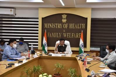 Union Health Minister Shri Mansukh Mandaviya presides over the release of Global Youth Tobacco Survey (GYTS-4), India, 2019 National Fact Sheet