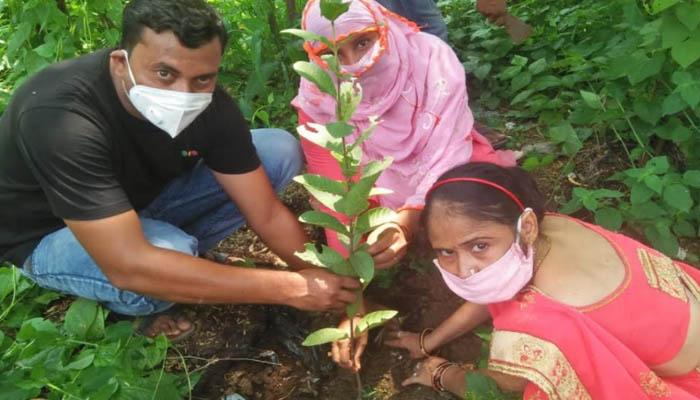 राष्ट्रीय पोषण माह के दौरान हरियाणा की नई पहल हर आंगनवाड़ी केंद्र में पोषण वाटिका का पौधारोपण