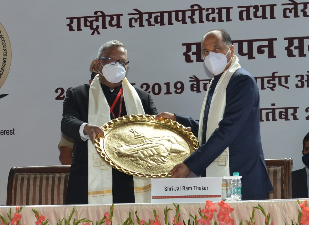 President of India Ram Nath Kovind was the chief guest on the occasion of valedictory ceremony of National Academy of Audit and Accounts for the Indian Audit and Accounts Services (IA&AS) trainee officers of 2018 and 2019 batches at Shimla today.