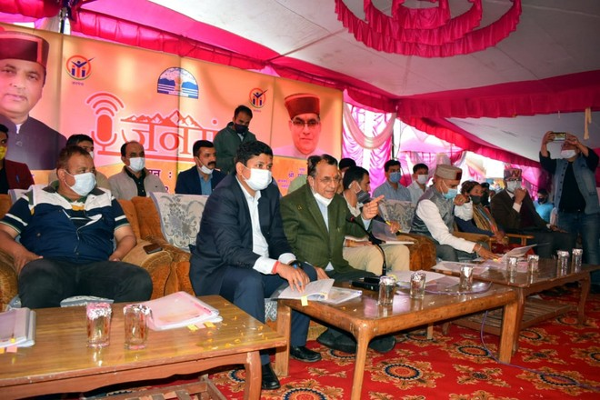 1609 grievances and demands received during Jan Manch organised in eleven districts