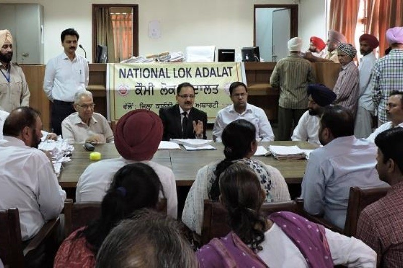 86,204 cases taken up before 378 Benches during National Lok Adalat