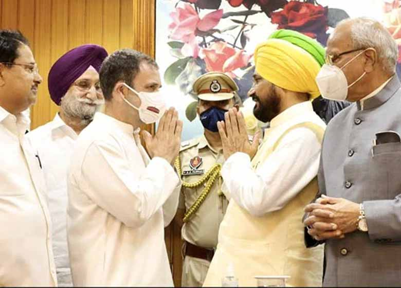 Charanjit Channi to be sworn in as Chief Minister Punjab