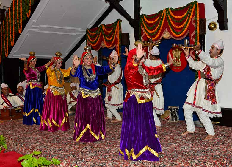 Cultural programme and dinner organized in honour of President of India